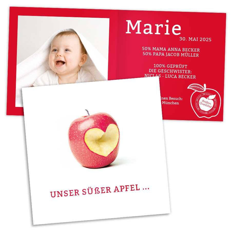 Süßer Apfel