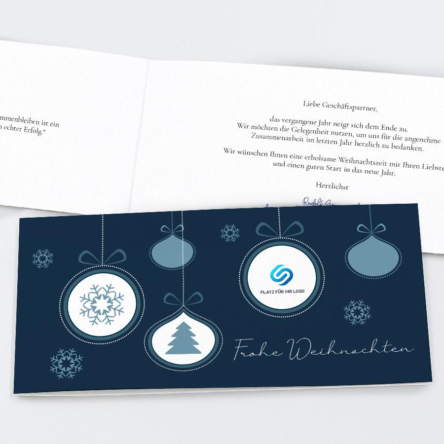 Spendenkarte Baumschmuck