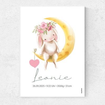 Mondschein Poster