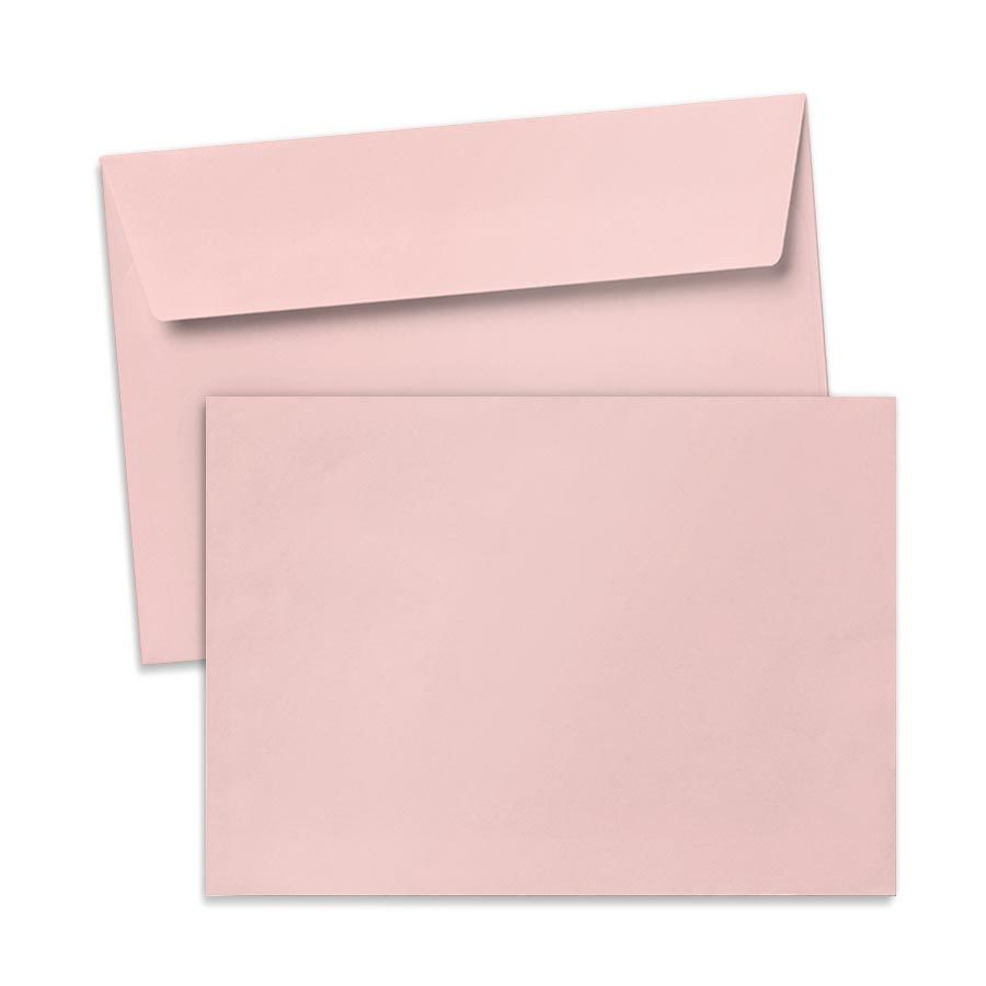 Umschlag für Große Karte Rosa, 176 x 125 mm