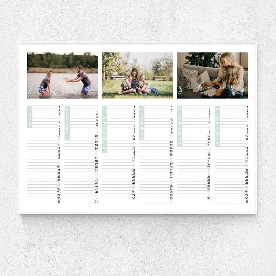 Familienzeit Jahreskalender