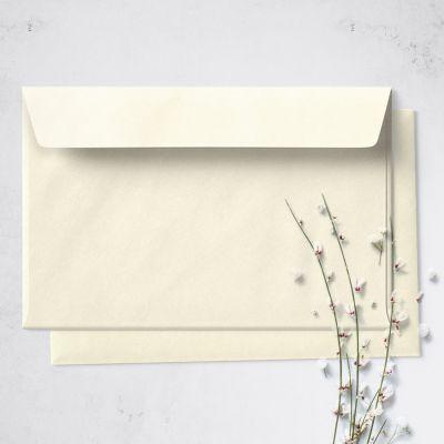 Umschlag für Große Karte Beige, 176 x 125 mm