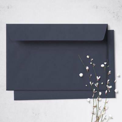 Umschlag für Große Karte Dunkelblau, 176 x 125 mm