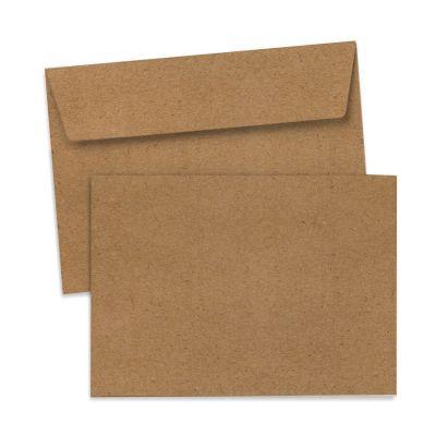 Umschlag für Große Karte Kraftpapier, 176 x 125 mm