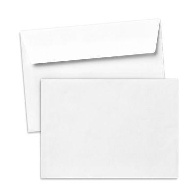 Umschlag für Große Karte Weiß, 176 x 125 mm