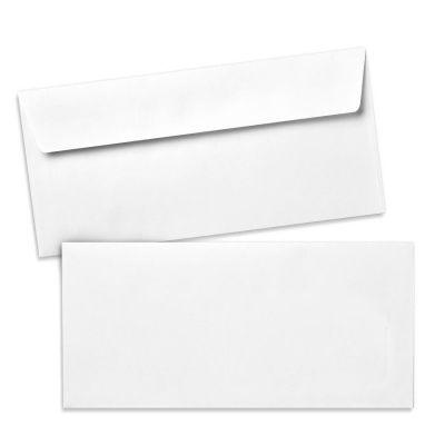 Umschlag für Lange Karte Weiß, 220 x 110 mm