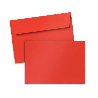 Umschlag für Postkarte Rot, 162 x 114 mm