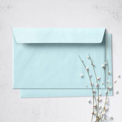 Umschlag für Postkarte Acqua, 162 x 114 mm