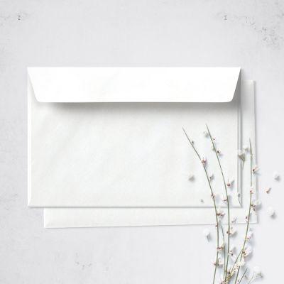 Umschlag für Postkarte Weiß, 162 x 114 mm