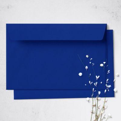 Umschlag für Große Karte Royalblau, 176 x 125 mm