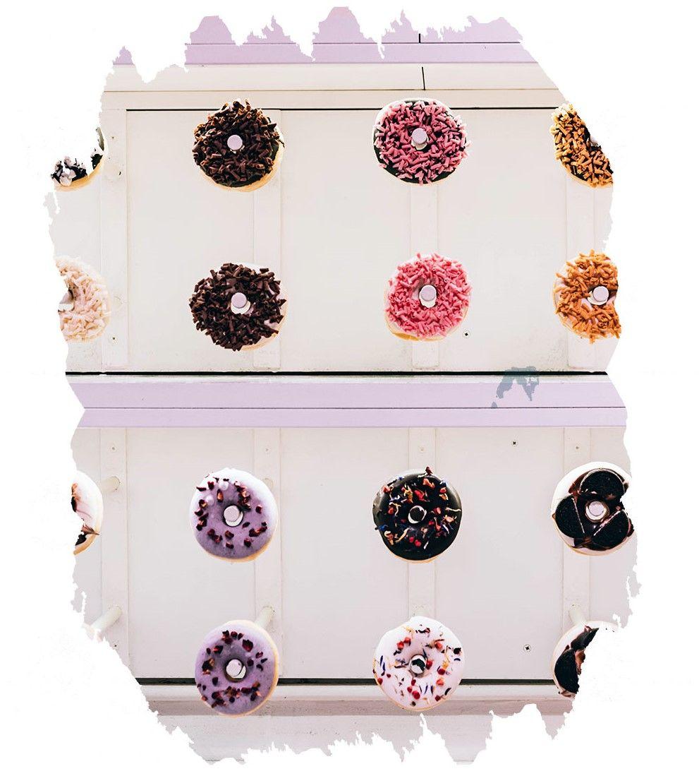 Donuts zur Hochzeit