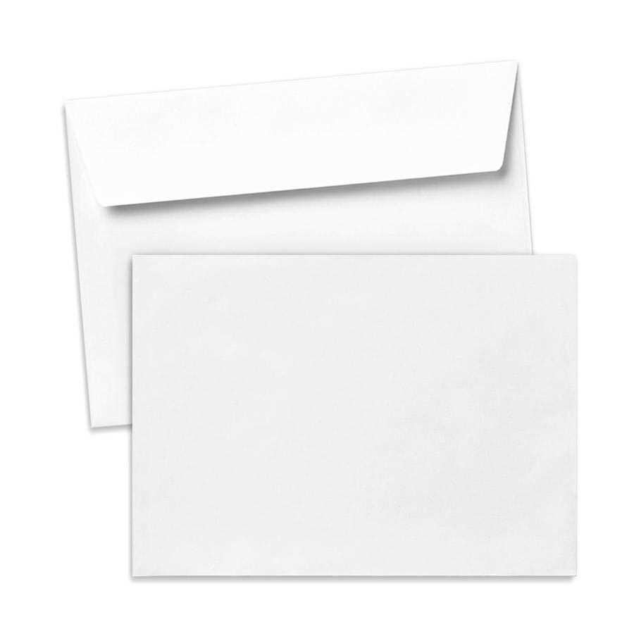 Umschlag für Große Karten