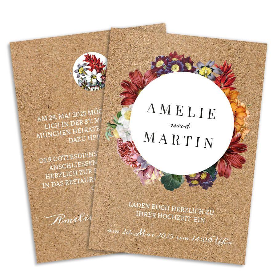 Entdecke Hochzeitseinladungen