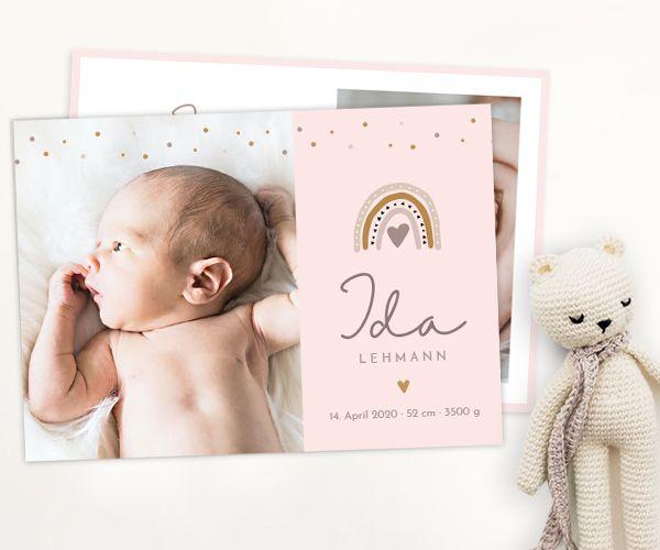 Geburtskarten Maedchen