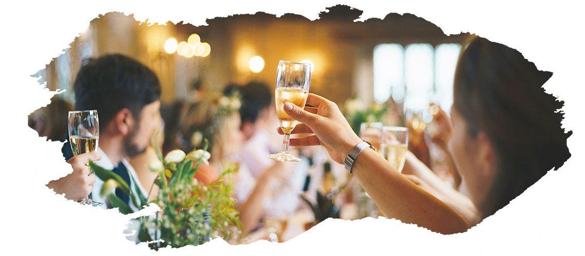 Hochzeitsgäste