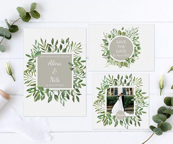 new product d27f8 5cdd4 Hochzeitskarten online individuell gestalten ❤   PRINTKISS