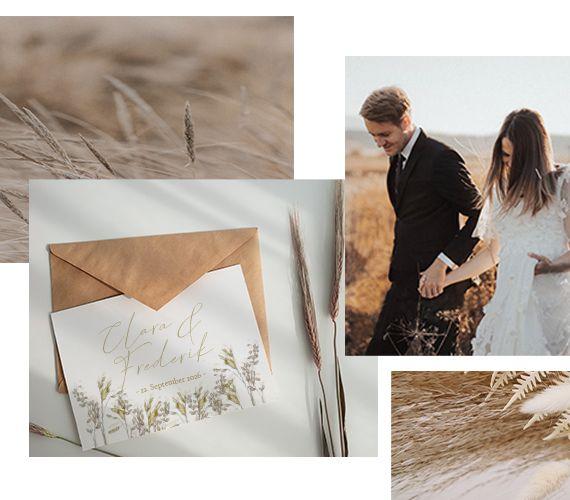 Hochzeit Kollage