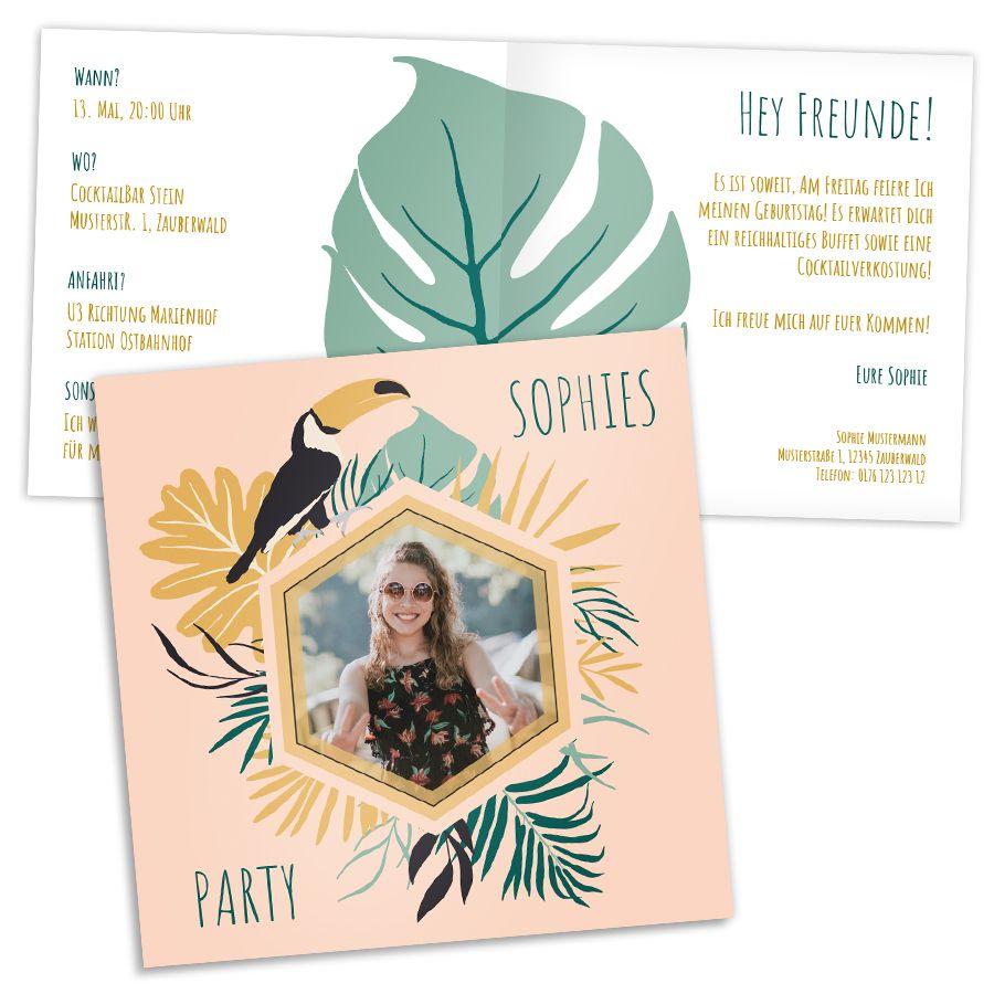 Entdecke Einladungskarten zum Geburtstag