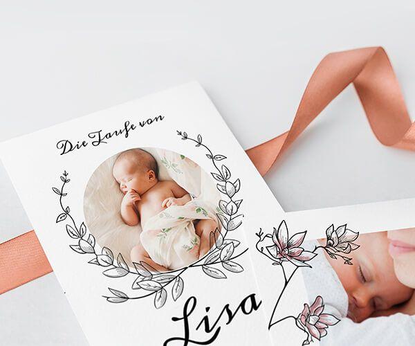 Dankeskarten Taufe Gestalten Und Drucken Printkiss