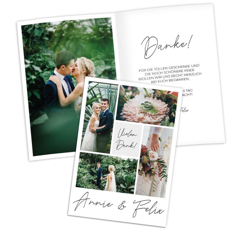 Entdecke Dankeskarten zur Hochzeit