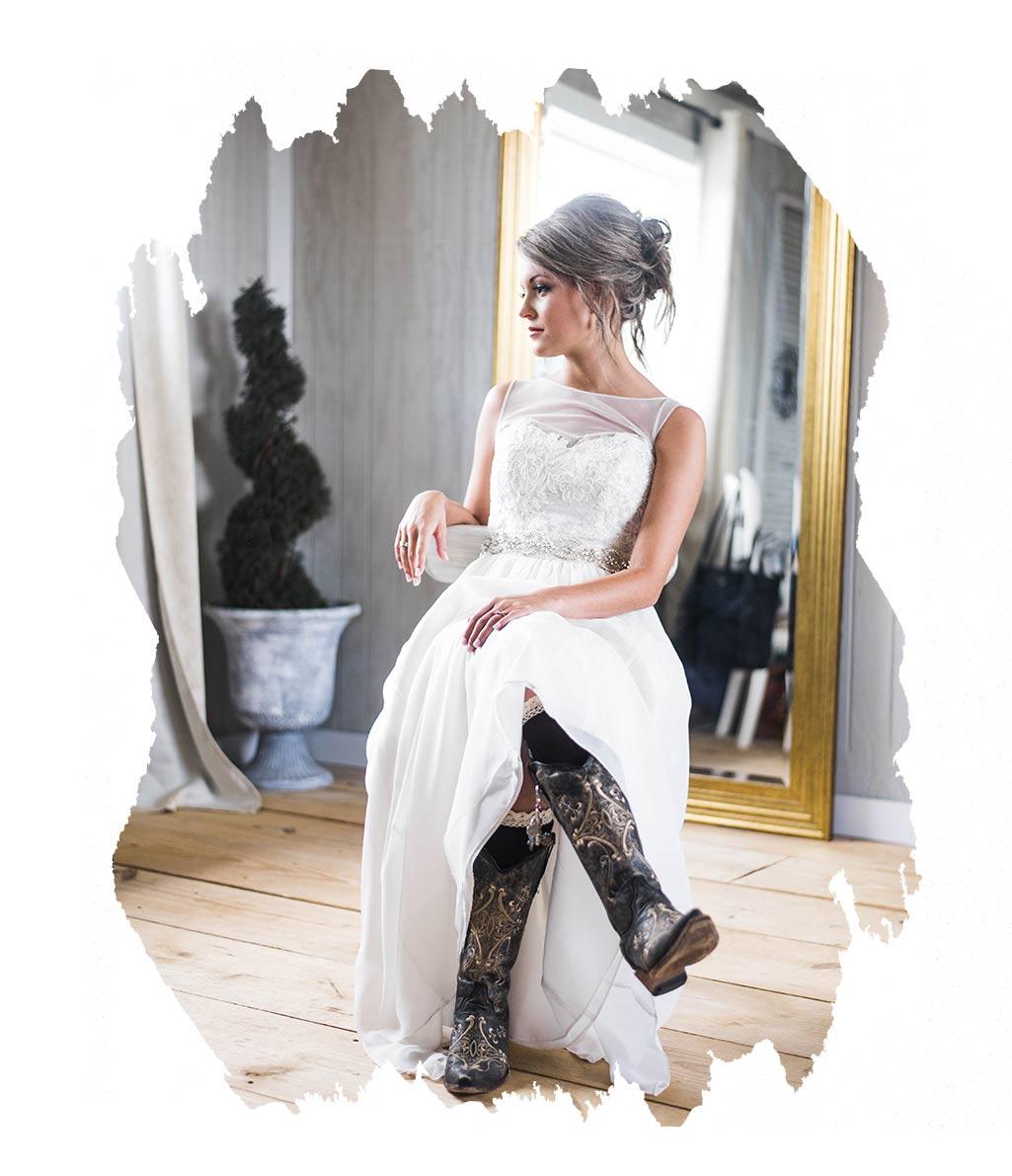 Winterhochzeit Kleid