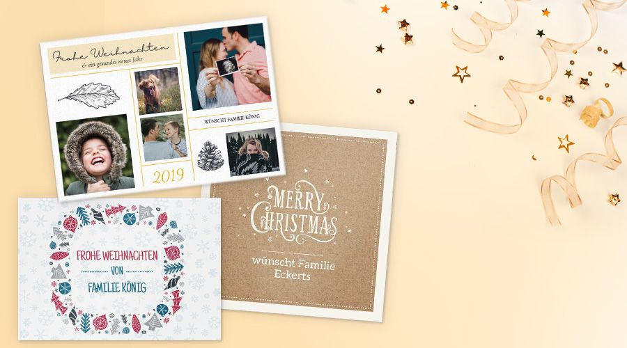 Private Weihnachtskarten