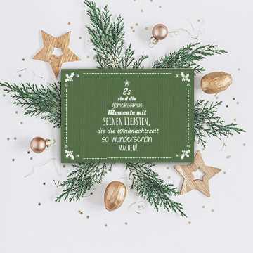 Einladungen zur Weihnachtsfeier